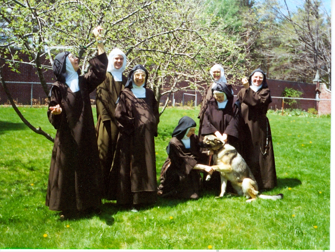 apple tree recreation 2002 – Carmel of St  Therese of Lisieux